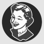 Tattooed Housewife - Radical Round Stickers