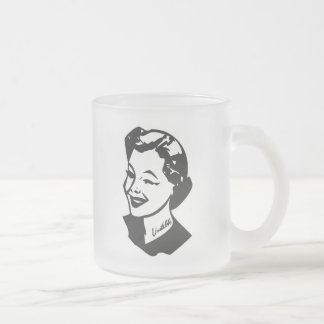 Tattooed Housewife - Unstable 10 Oz Frosted Glass Coffee Mug