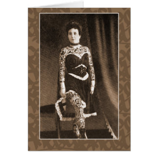 Tattooed Lady on Cards, Postcards