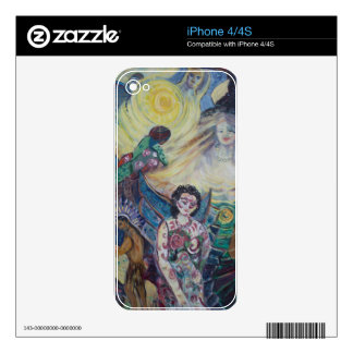 Tattooed Man iPhone 4 Decals