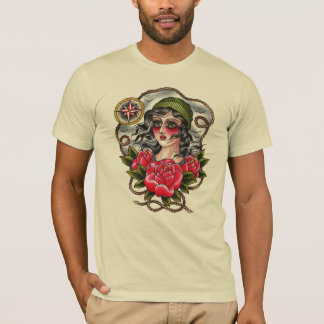 Tattooed Sailor Girl Tee