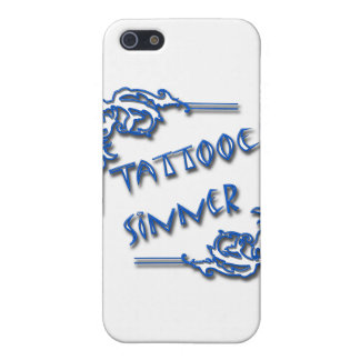 Tattooed Sinner blue Case For iPhone SE/5/5s
