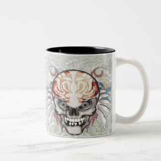Tattooed Skull Mug