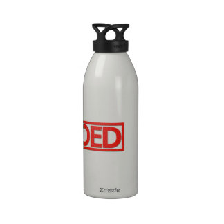 Tattooed Stamp Water Bottle