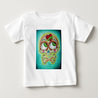 Tattooed sugar skull baby T-Shirt