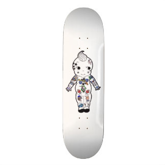 Tattooed Vintage Baby Traditional Style Tattoos Skateboard