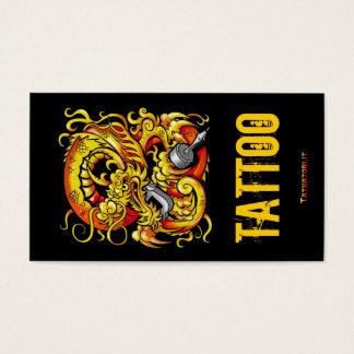 Tattooer Dragon Business Card