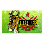 Tattooer Tiger Business Cards