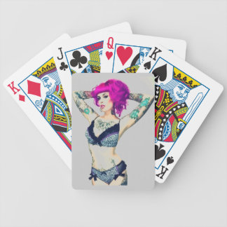 Tattoos are a Girls Best Friend Bicycle Playing Cards