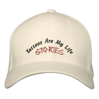 Tattoos Are My Life, Stories-Hat-Embroidered Embroidered Hat