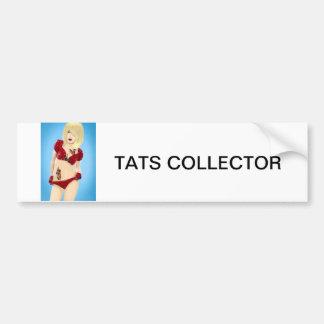 Tattoos, girl,vintage retro, pinup, fashion, car, bumper sticker