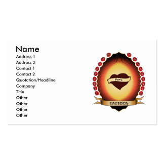 Tattoos Mandorla Double-Sided Standard Business Cards (Pack Of 100)
