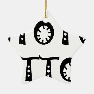 TATTOOS.png Ceramic Ornament