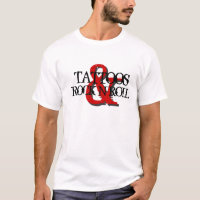 Tattoos & Rock N Roll T-Shirt