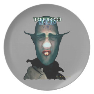 Tattooth (The Leader) Melamine Plate