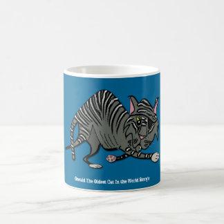 TATTY TABBY, Oswald The Oldest Cat ... Coffee Mug