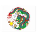 Tatuaje 1 del dragón postal