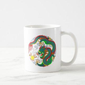 Tatuaje 1 del dragón tazas
