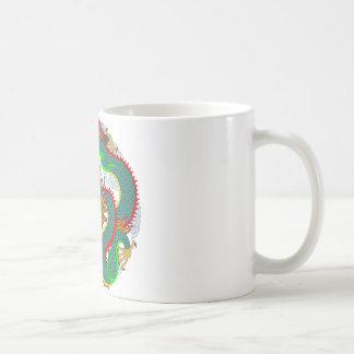 Tatuaje 1 del dragón taza