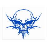 Tatuaje 2 del cráneo postal