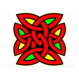 Tatuaje céltico del nudo postales