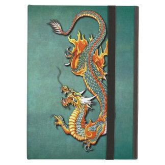Tatuaje colorido fresco del dragón del fuego de la