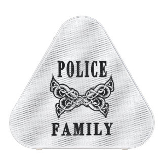 Tatuaje de la familia de la policía altavoz bluetooth