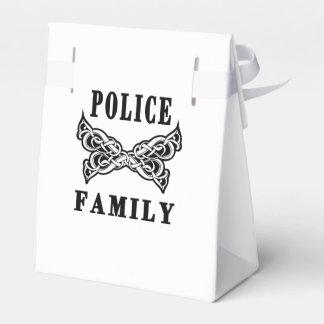 Tatuaje de la familia de la policía cajas para regalos