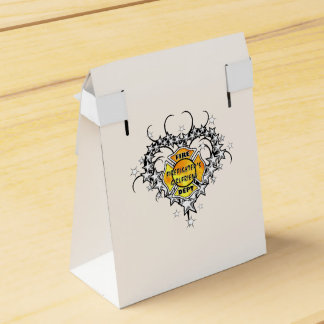 Tatuaje de la novia de los bomberos caja para regalos