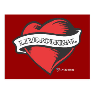 Tatuaje de LiveJournal Postales