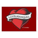 Tatuaje de LiveJournal Tarjeta De Felicitación