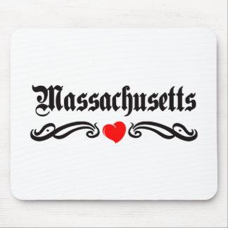 Tatuaje de Massachusetts Alfombrilla De Ratones