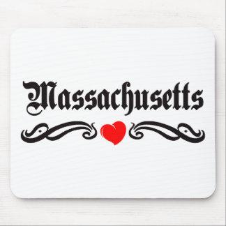 Tatuaje de Massachusetts Tapetes De Raton