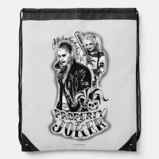 Tatuaje del aerógrafo del comodín y de Harley del Mochilas