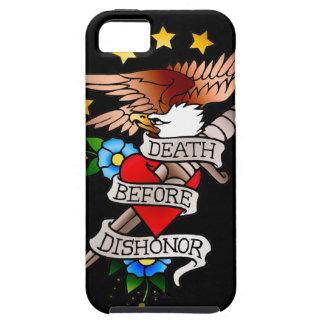 tatuaje del águila del vintage iPhone 5 fundas