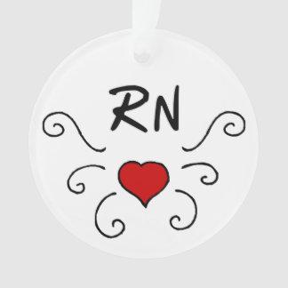 Tatuaje del amor de la enfermera del RN