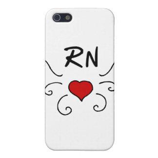 Tatuaje del amor del RN iPhone 5 Coberturas