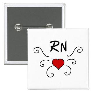 Tatuaje del amor del RN Pin
