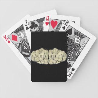 Tatuaje del amor y del odio cartas de juego