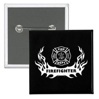 Tatuaje del bombero pin