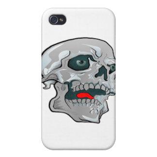 Tatuaje del cráneo de Kewl iPhone 4 Cobertura
