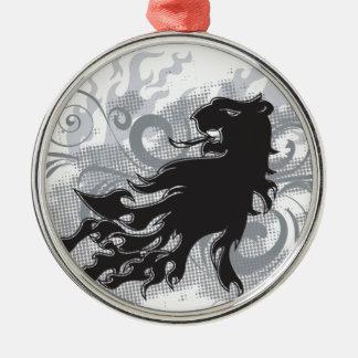 Tatuaje del león ornamentos para reyes magos