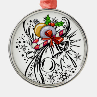 Tatuaje del navidad ornamento para reyes magos