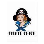 Tatuaje del polluelo del pirata postal