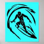 TATUAJE del TIPO QUE PRACTICA SURF extreme_sport_0 Poster