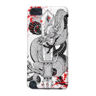 Tatuaje japonés del dragón de la sangre del vintag