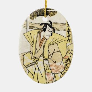 Tatuaje japonés fresco del samurai del ukiyo-e del adornos