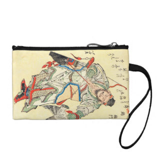Tatuaje japonés Hokusai del bosquejo del guerrero