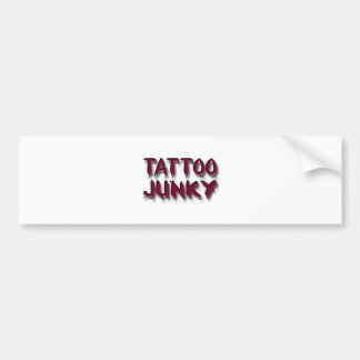 Tatuaje Junkyred Pegatina De Parachoque