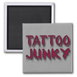 Tatuaje Junkyred Imán De Frigorífico